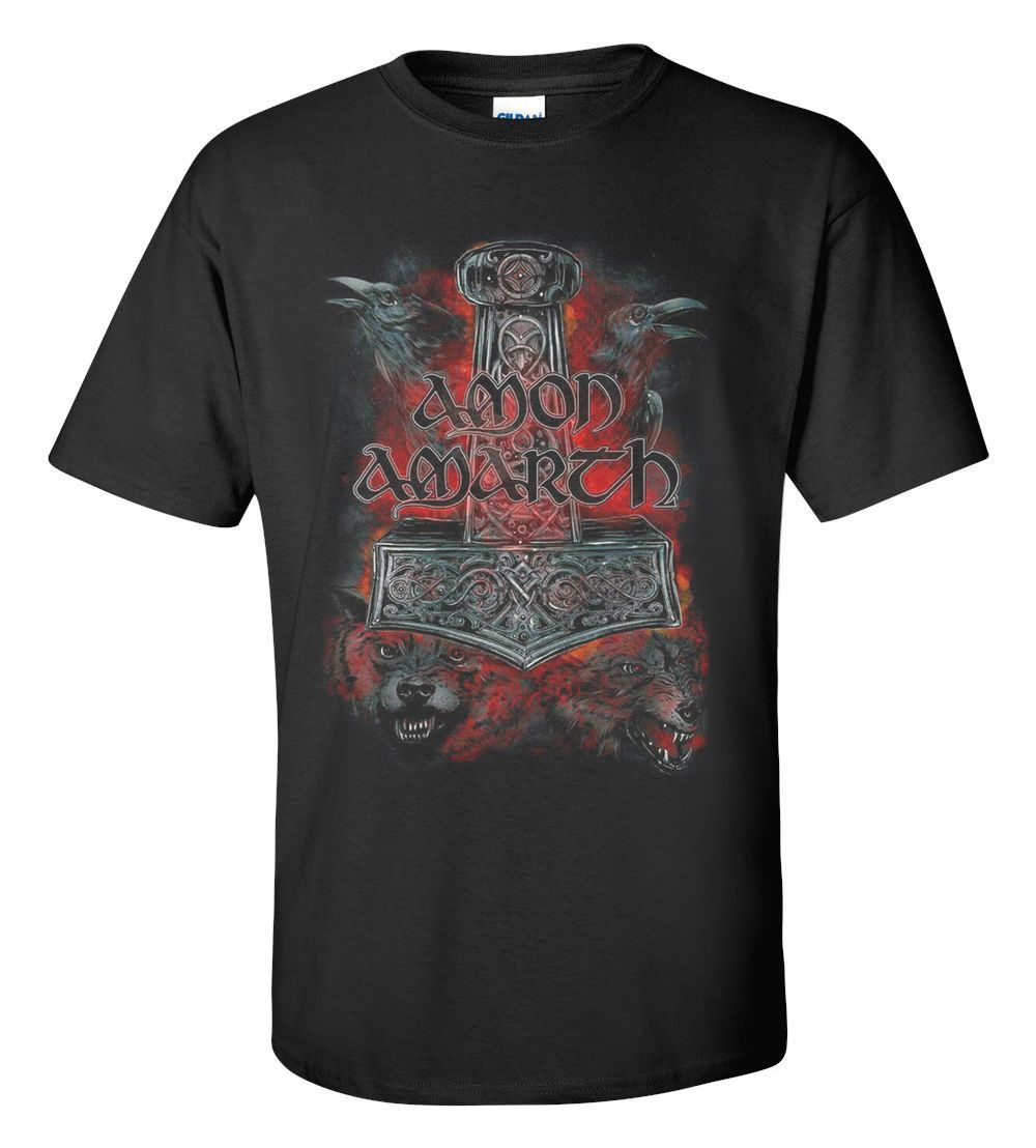 Amon Amarth Band T-shirt M/L/XL/2XL/3XL Clothing Tshirt