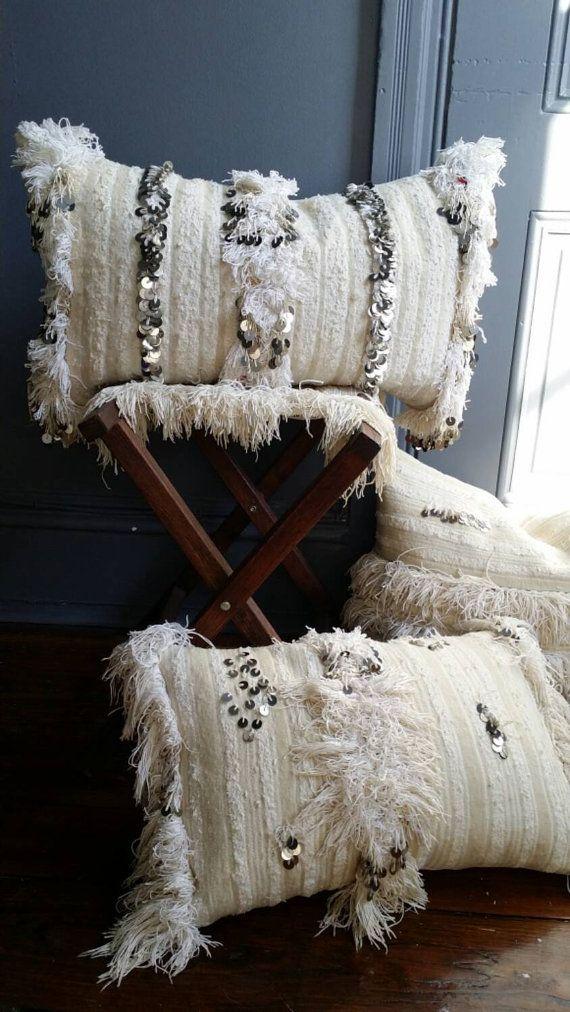 moroccan throw pillow handmade pillows