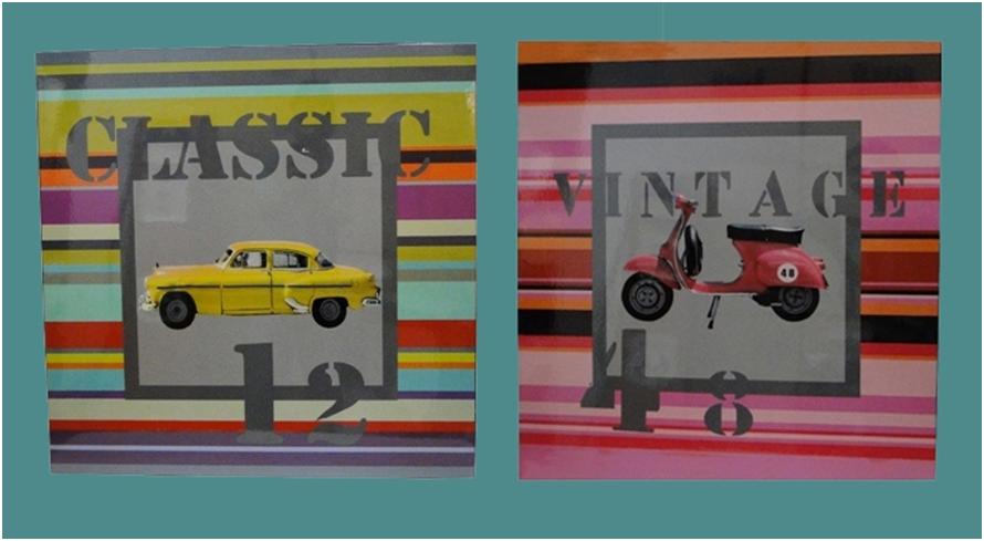 Quadros em decorativos é na Adoro Presentes, aqui você encontra uma variedade de quadros em laca, confira!  #quadros #laca #classic #vintage #decoração