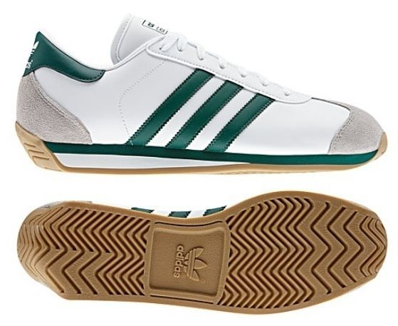 New Adidas Originals Mens COUNTRY 2.0 Shoes Retro White