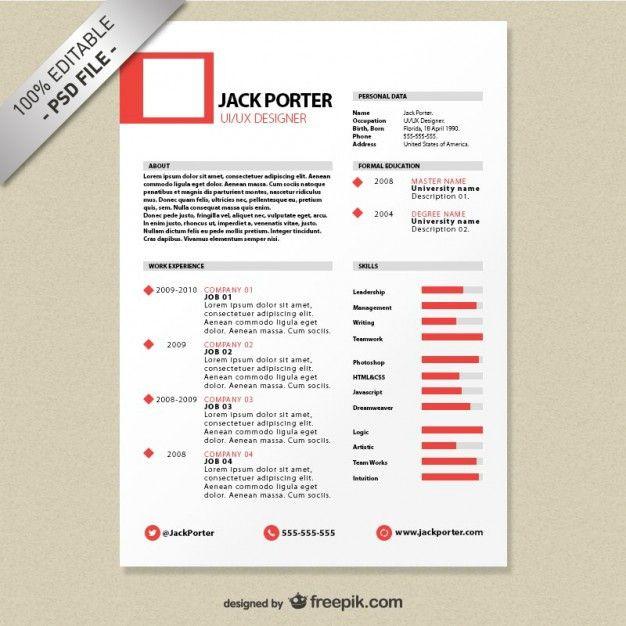 creative resume template download free 23 2147493183 psd file resumes  u2026