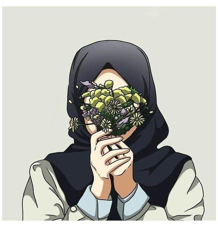 Cute Muslim Hijabi Girl Picture Hijabi Girl Cartoon Wallpaper Hijabigirlcartoonwallpaper Girls Cartoon Art Hijab Cartoon Islamic Cartoon Cartoon hijab woman wallpaper