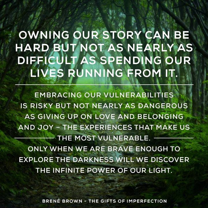 Image result for brene brown quotes owning our story