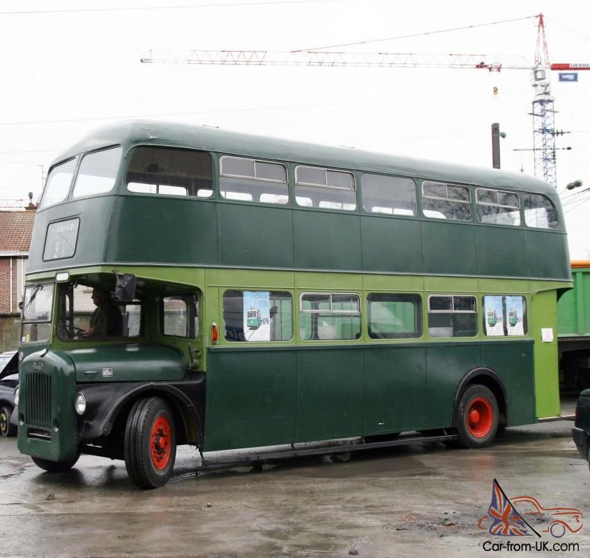 Double Decker Bus Daimler 1959 Double Etage Routemaster With