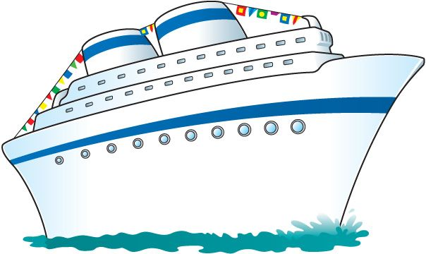 Cruise Ship Jpg 604 360 Pixels Cartoon Ships Cruise Ship Disney Cruise Ships