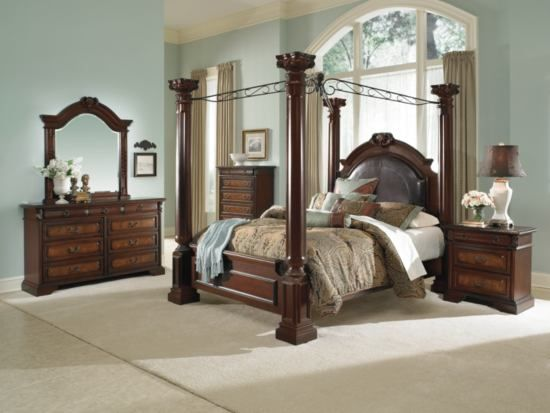Exceptionnel Barcelona Canopy Bed   American Signature Furniture