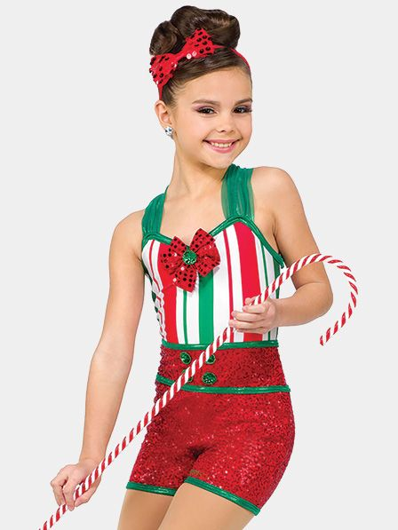 Girls Christmas Dance Costumes Festival Outfits Christmas Costumes