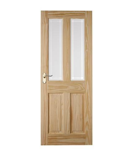 4 Panel Clear Pine 2 Light Glazed | Internal Softwood Doors | Doors u0026 Joinery |  sc 1 st  Pinterest & 4 Panel Clear Pine 2 Light Glazed | Internal Softwood Doors ... pezcame.com