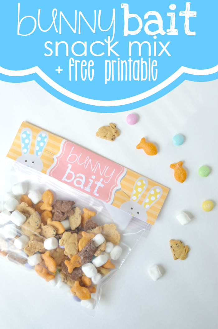 Bunny bait snack mix free treat bag topper printable bunny find this pin and more on easter bunny bait easter snack mix a free treat bag topper negle Images