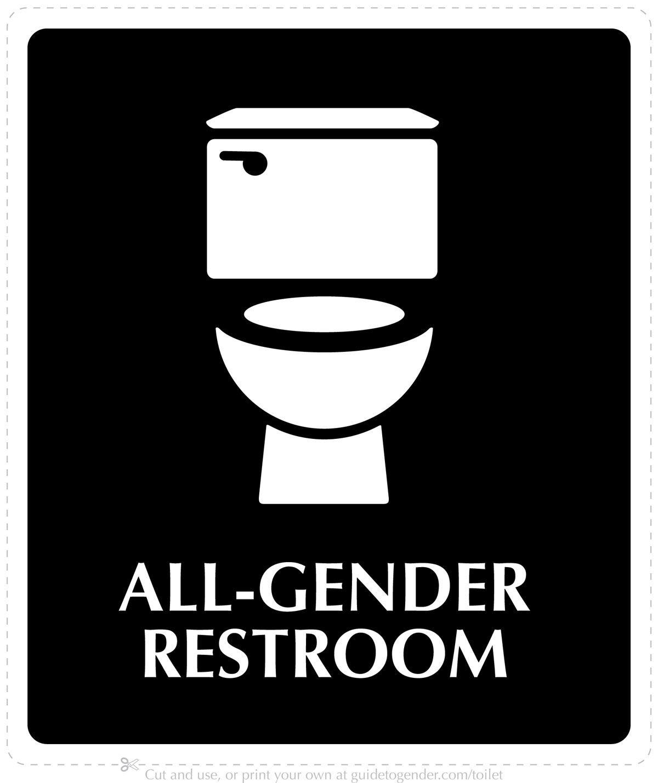 Let S Talk About Bathrooms All Gender Restroom Gender Neutral Bathroom Signs Restroom Sign