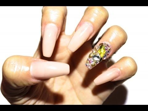 How To Change Your Nail Shape Without Removing Acrylics Youtube Nails Different Acrylic Nail Shapes Nail Shapes