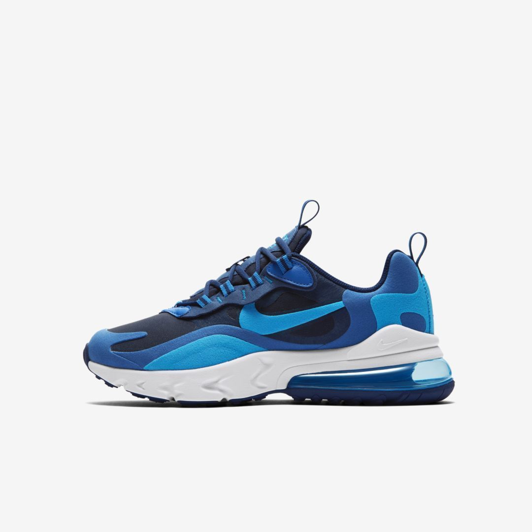 Nike Air Max 270 React Big Kids' Shoe. #react