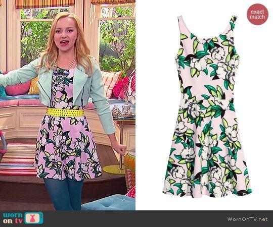 Verrassend Jersey Dress | Liv & Maddie Style & Clothes by WornOnTV | Liv RA-23