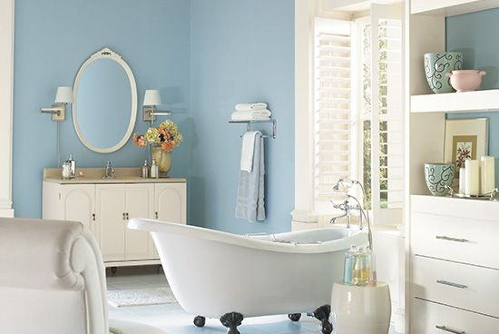 Discover Cool Relaxing Bathroom Colors By Ppg Pittsburgh Paints