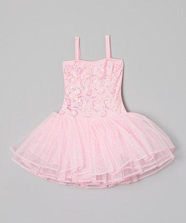 Another great find on #zulily! Pink Stella Luna Skirted Leotard - Girls #zulilyfinds