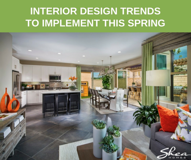 Design Trends to Implement this Spring!