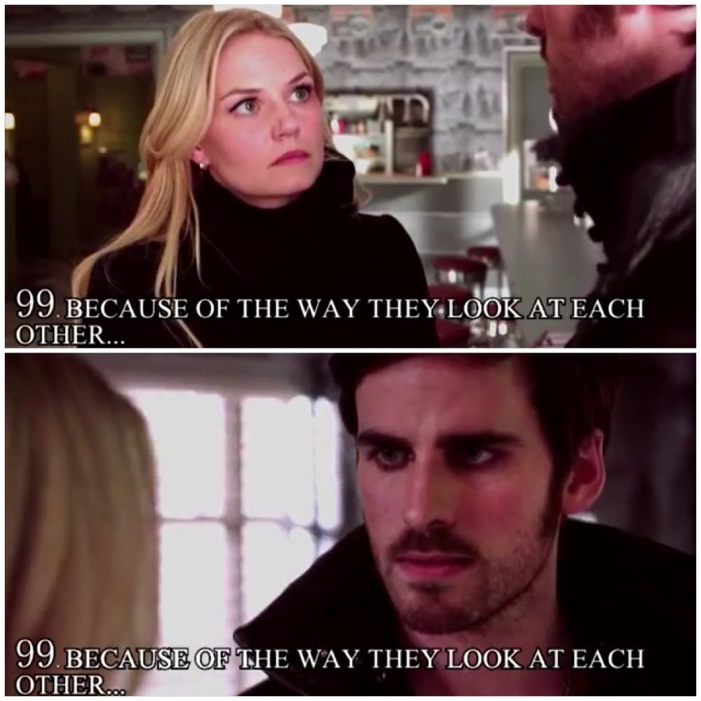 Because of the way they look at each other <3 <3 <3