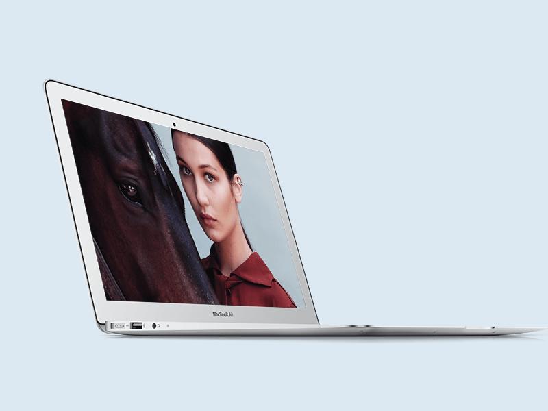 Macbook Air Mockup Macbook Mockup Elegant Macbook Free Mockup