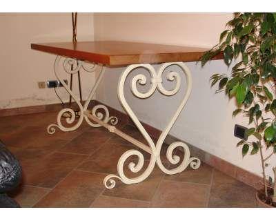 Tavolo . Tavolino in FERRO BATTUTO . Personalizzato . 665 | TAVOLI ...