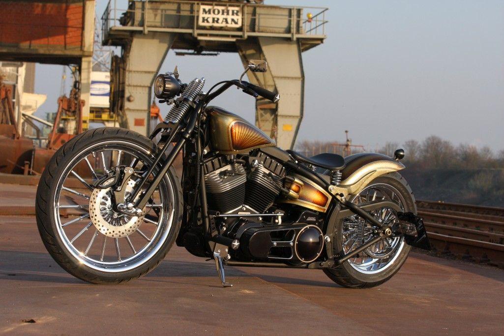 Harley-Davidson Softail Blackline by Thunderbike Customs - Created for Custom Chrome Europe