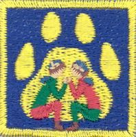 Cub Scouts/Games & plays merit badge; Partiotuote, Leikit-jälki , Sudenpentujen Leikit-jälki
