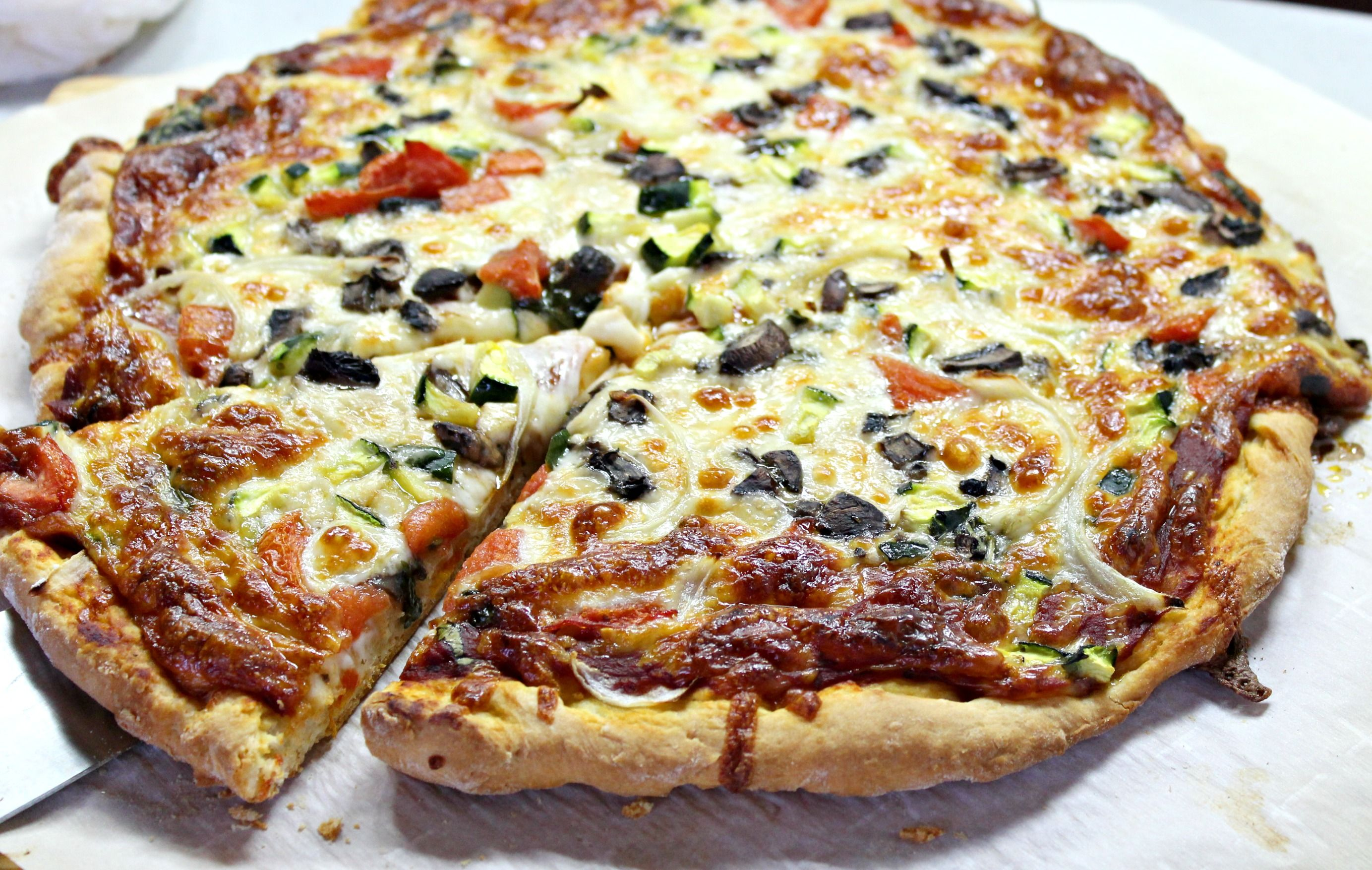 Easy Homemade Pizza Dough without yeast | Pizza dough ...