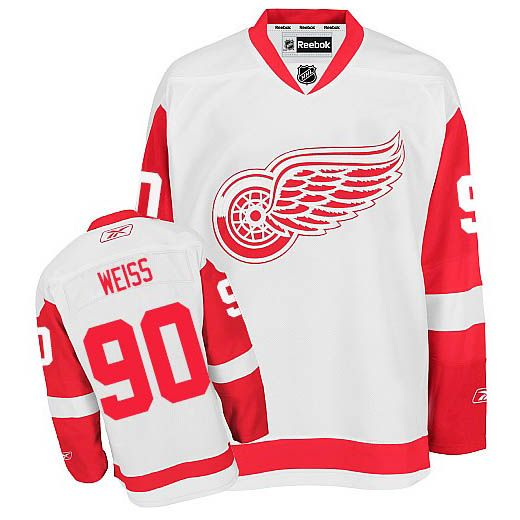 95111c28f Detroit Red Wings #90 Stephen Weiss White jersey | NHL Jerseys ...