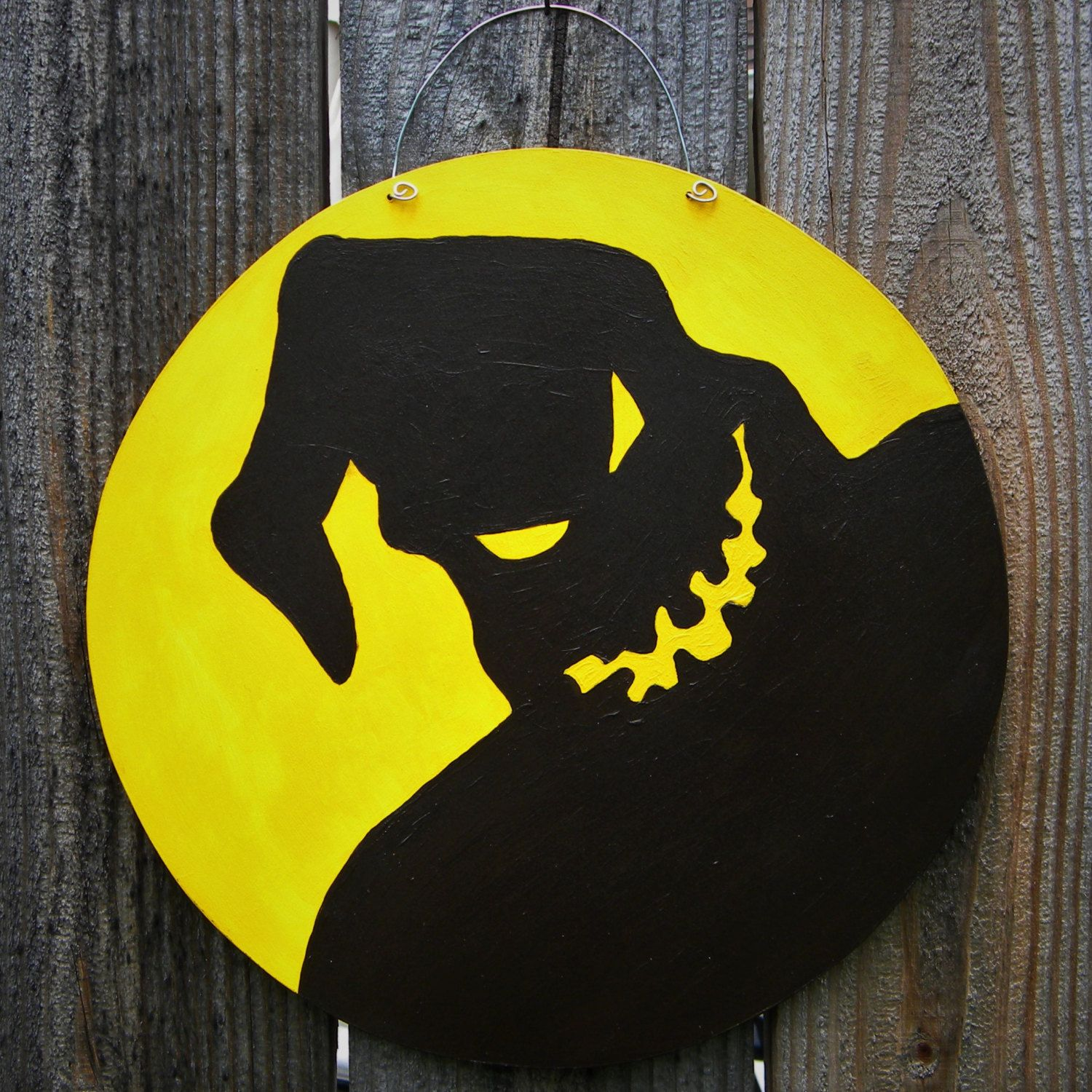 Nightmare Before Christmas Inspired Oogie Boogie, Boogeyman, Door - Office Halloween Decor