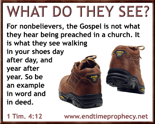 Examine Yourselves * Be Examples Graphic 11 - http://www.endtimeprophecy.net/Blog/2016/06/17/examine-yourselves-be-examples-graphic-11/