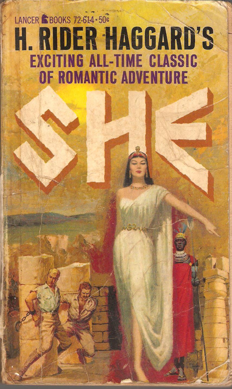 H. Rider Haggard. She. | H rider haggard, Paperback writer, Pulp fiction  book