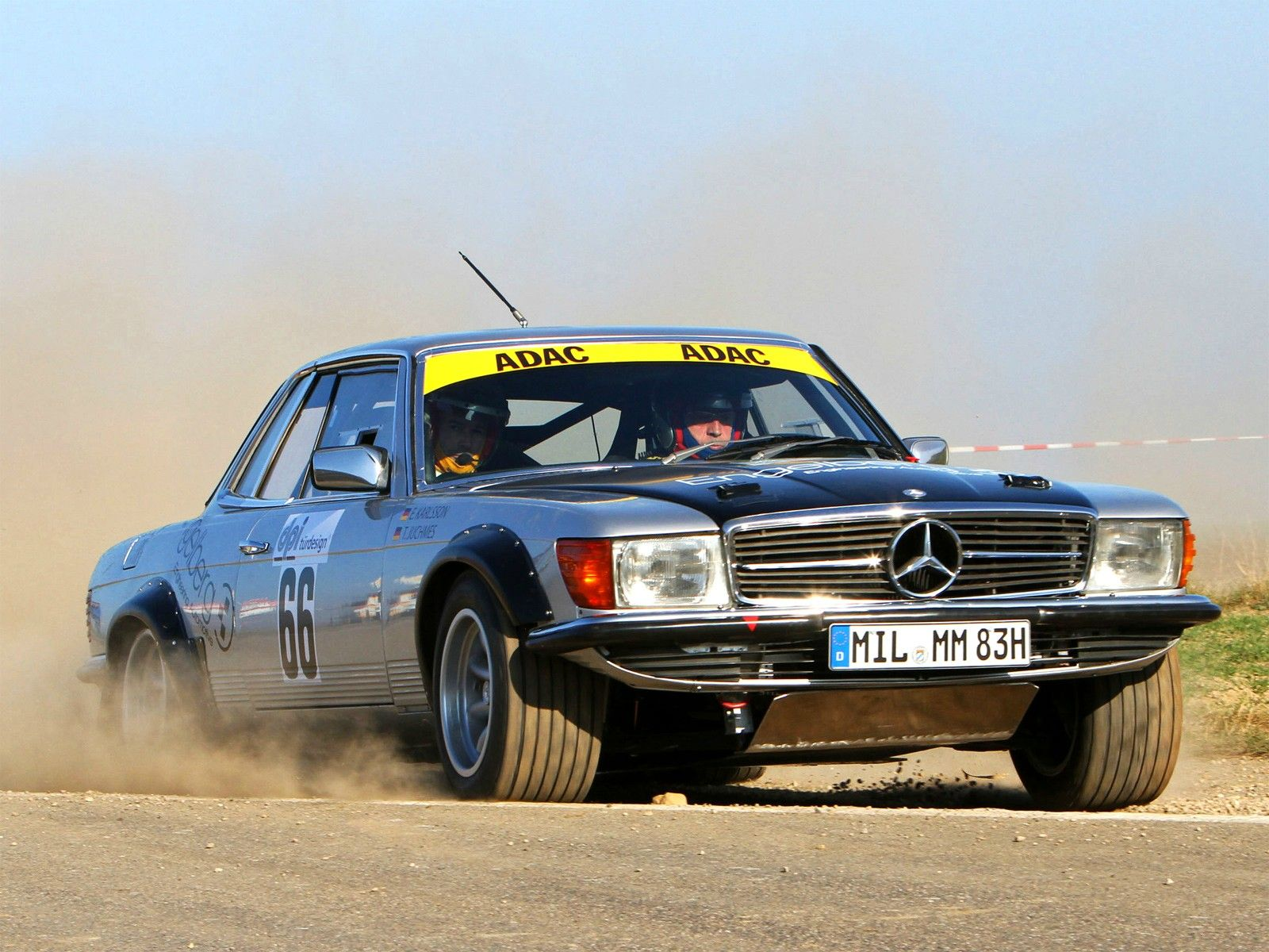 Mercedes 450 SLC Rally | Mercedes Benz classic Roadster R107 ...