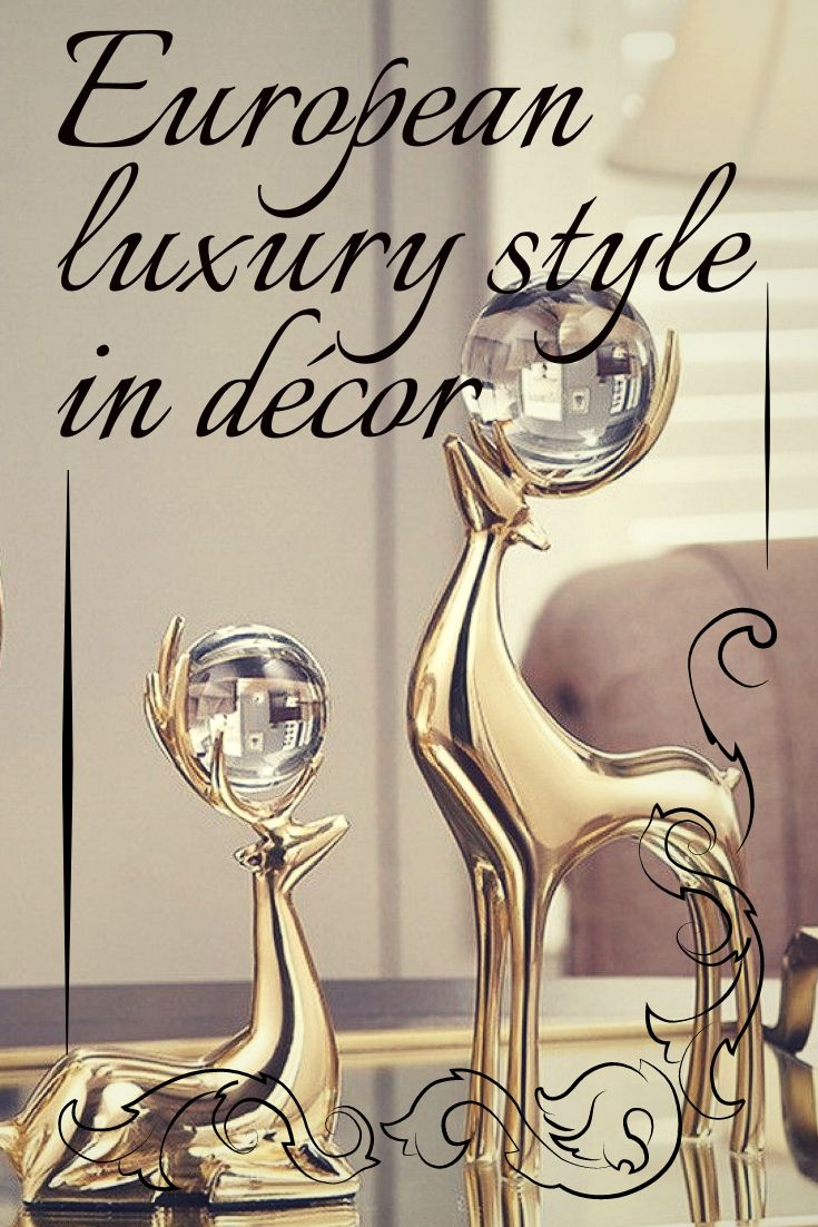 European luxury style in décor, modern classic interior, luxury products accessories home décor.