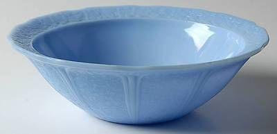 Jeannette Glass CHERRY BLOSSOM DELPHITE Fruit Bowl 8952150 in Pottery & Glass, Glass, Glassware, Depression, Jeannette, Cherry Blossom | eBay