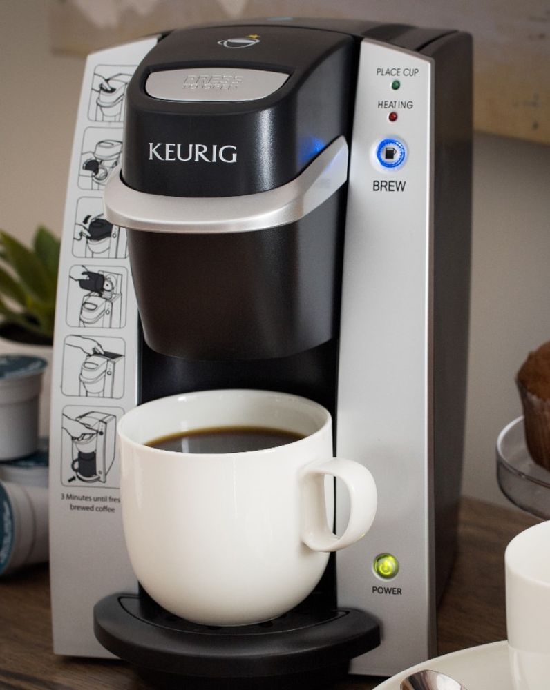 Fresh Coffee Maker and Brewer KCup Single Serve Stainless