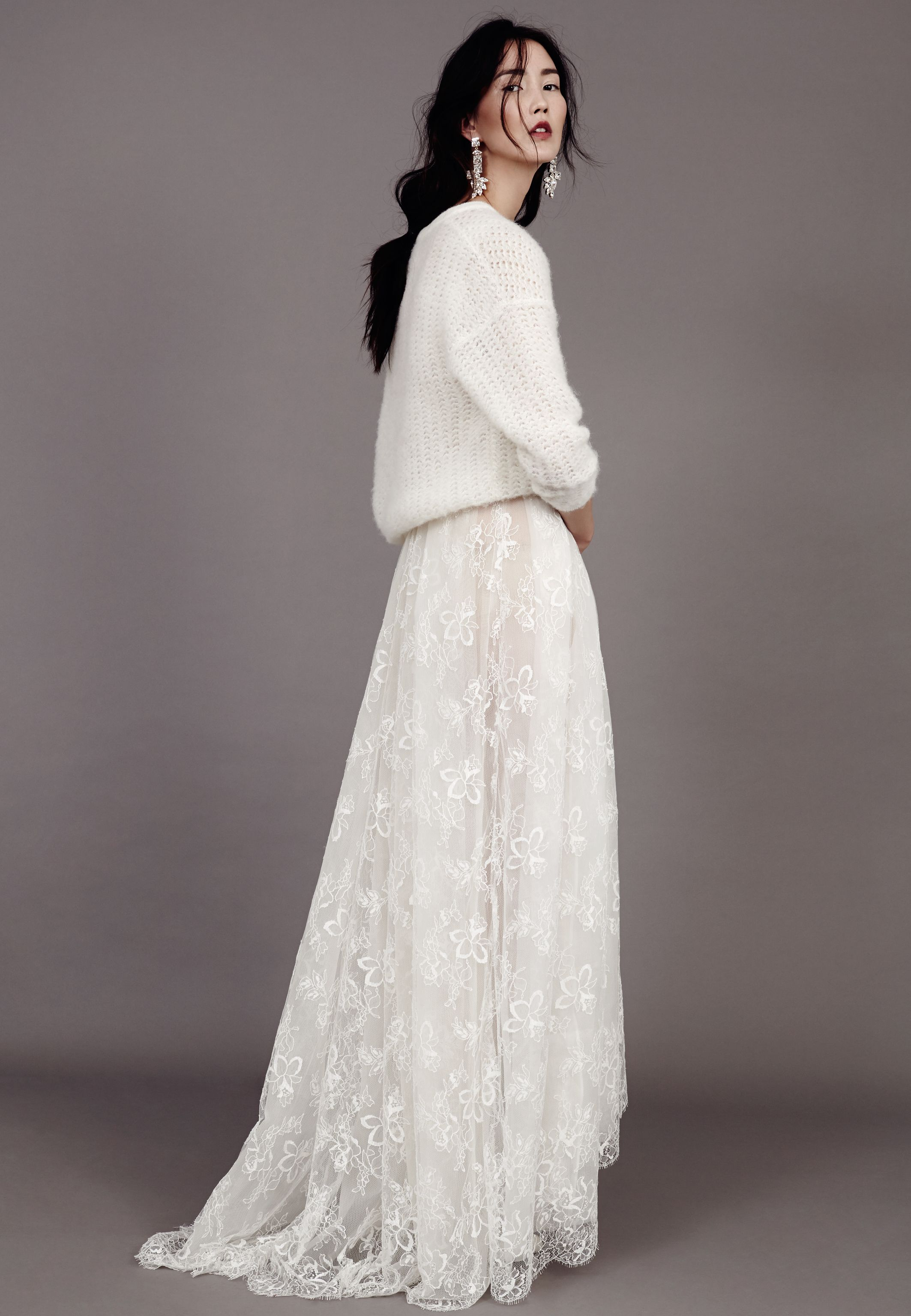 Pullover zum Brautkleid von kaviar Gauche, Strickpullover Braut