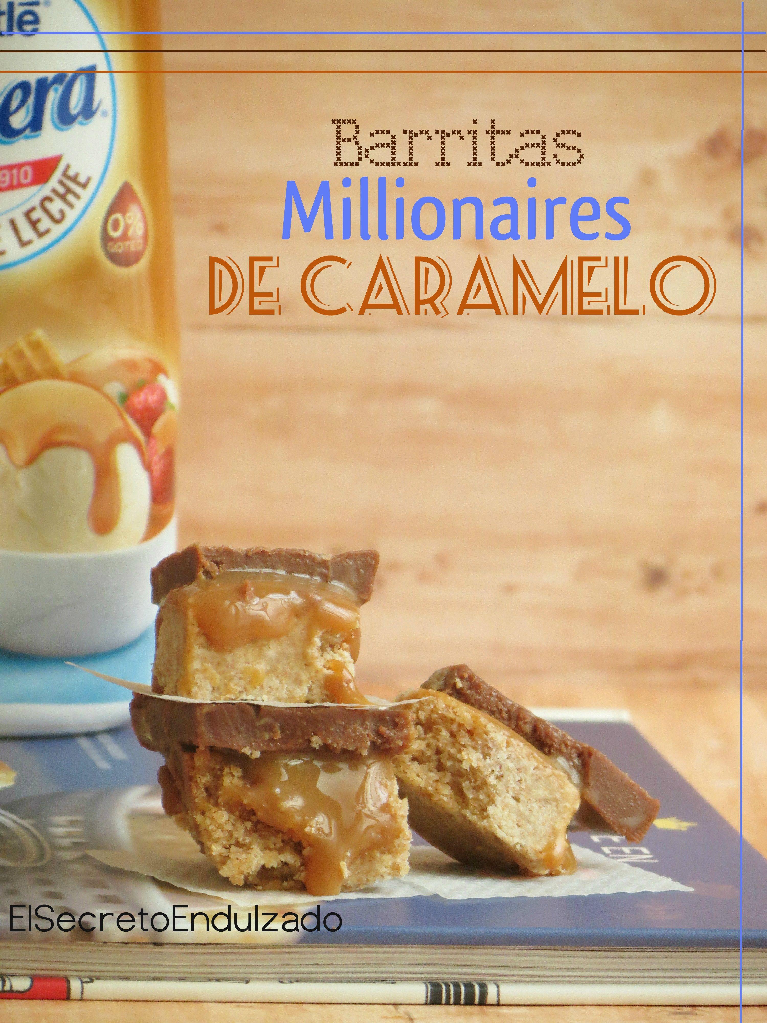 BARRITAS/Bars Millionaire de Caramelo
