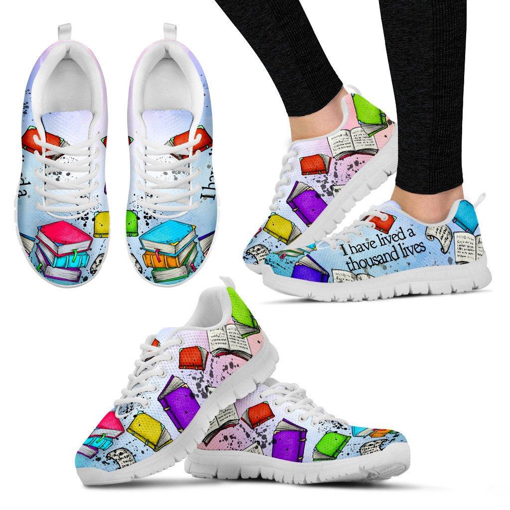 Book Reader Sneakers | Buy shoes online, Sneakers, Popular shoes