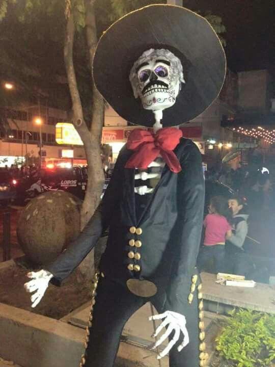 Catrinas (y mariachi) 2015 en Chapultepec.