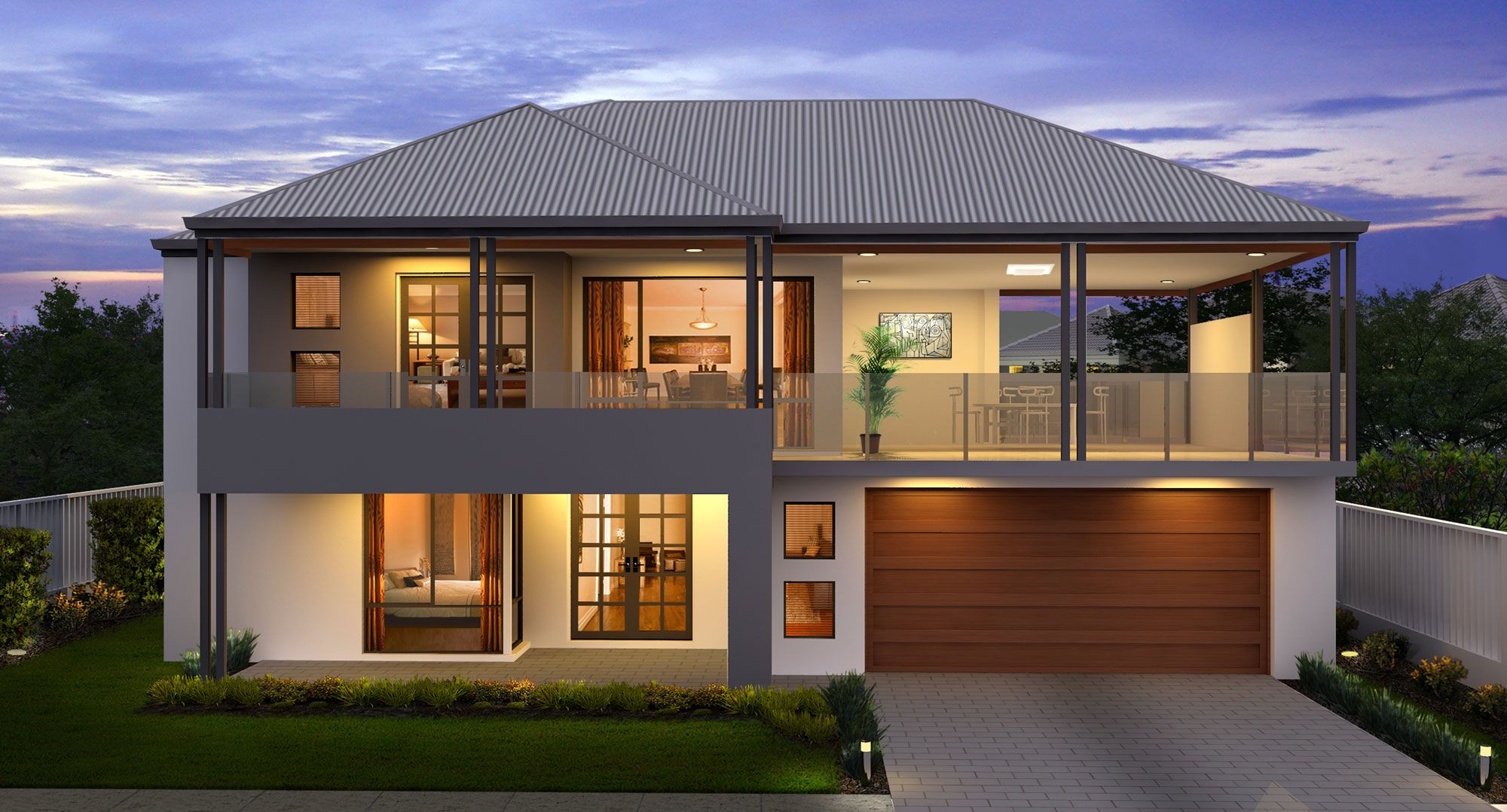 Two Storey Home Builders Mandurah Perth Great Living Homes Two Story House Design House Roof Design Facade House