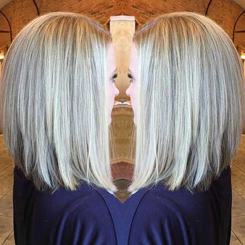 36++ Long angled bob hairstyles back view ideas