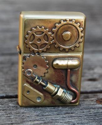 Jewelry Making Journal Steampunk Lighting Zippo Art Zippo Collection