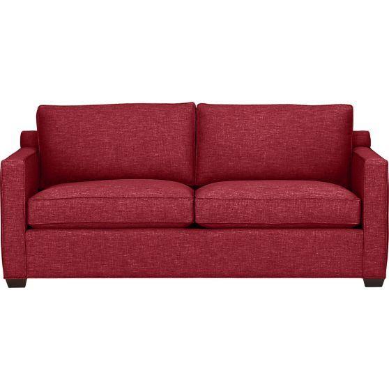Davis Queen Sleeper Sofa In Sofas Crate And Barrel Sofa Sleeper Sofa Stylish Sofa Bed