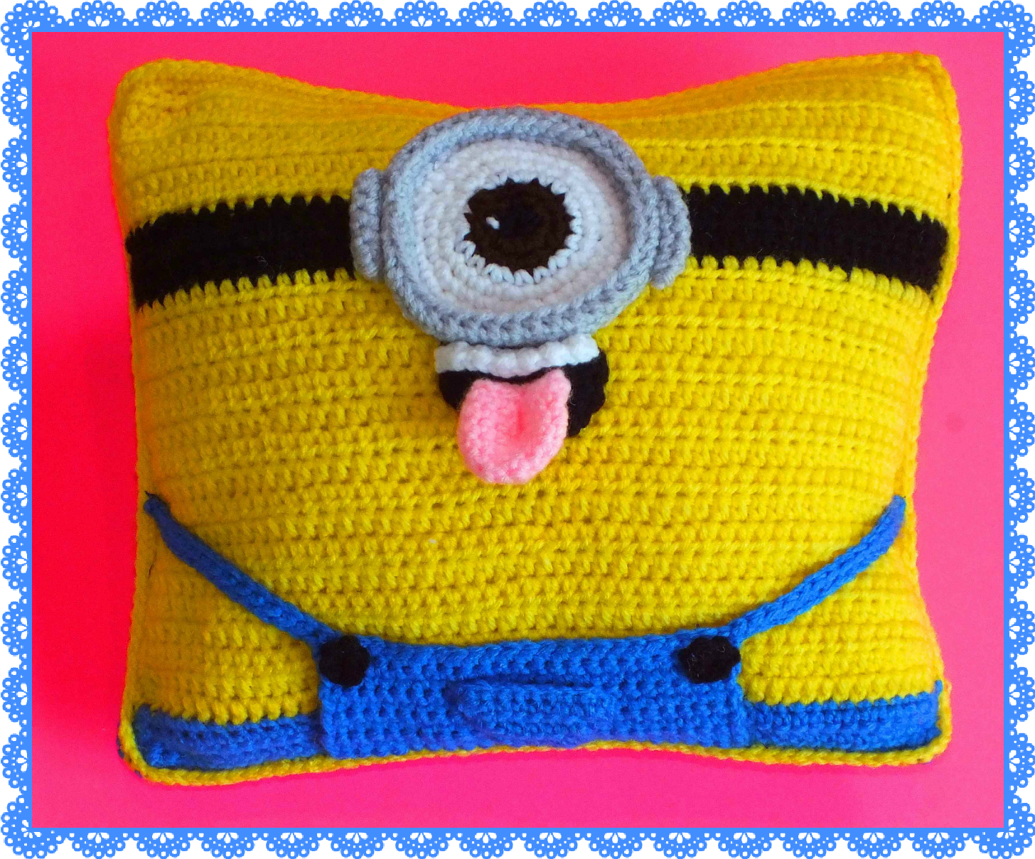 Connies spot crocheting crafting creating free minion connies spot crocheting crafting creating free minion inspired dollpillow bankloansurffo Choice Image