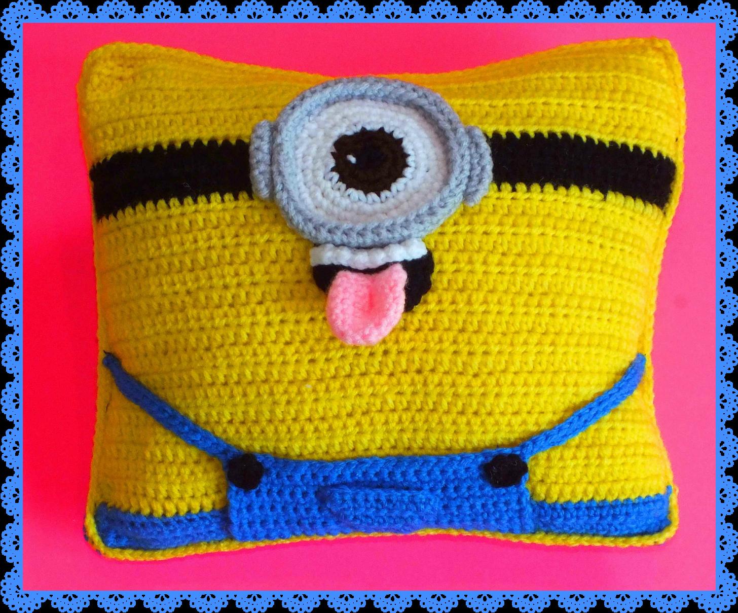 Free Minion Inspired Doll+Pillow Patterns© | Pinterest | Deckchen ...