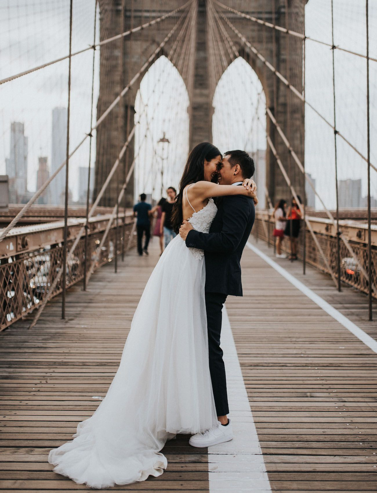 From DUMBO to the Flatiron A New York City Elopement