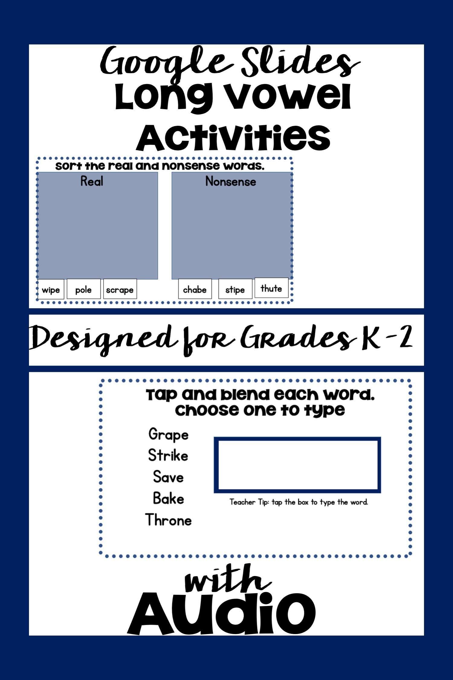 Long Vowel Worksheets For Kindergarten Long Vowel Words Word Sorts Long Vowel Worksheets [ 2249 x 1499 Pixel ]