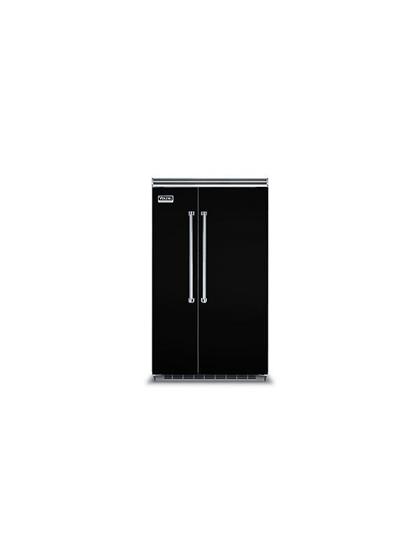 Viking Vcsb5483 48 Inch Wide 29 05 Cu Ft Energy Star Rated Built In Side By Si Black Refrigerators Refrigerator Freezer Fridge