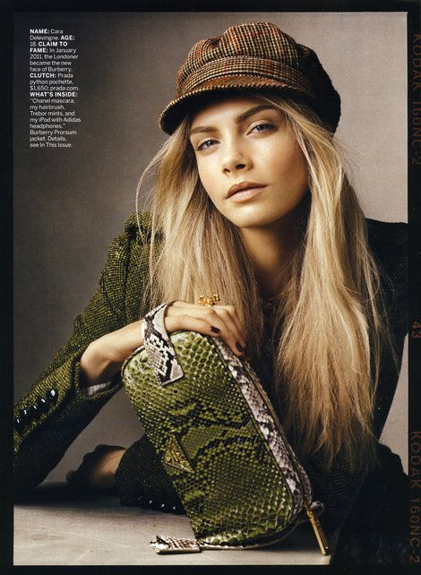 Fall Hats (Model Cara Delevingne)