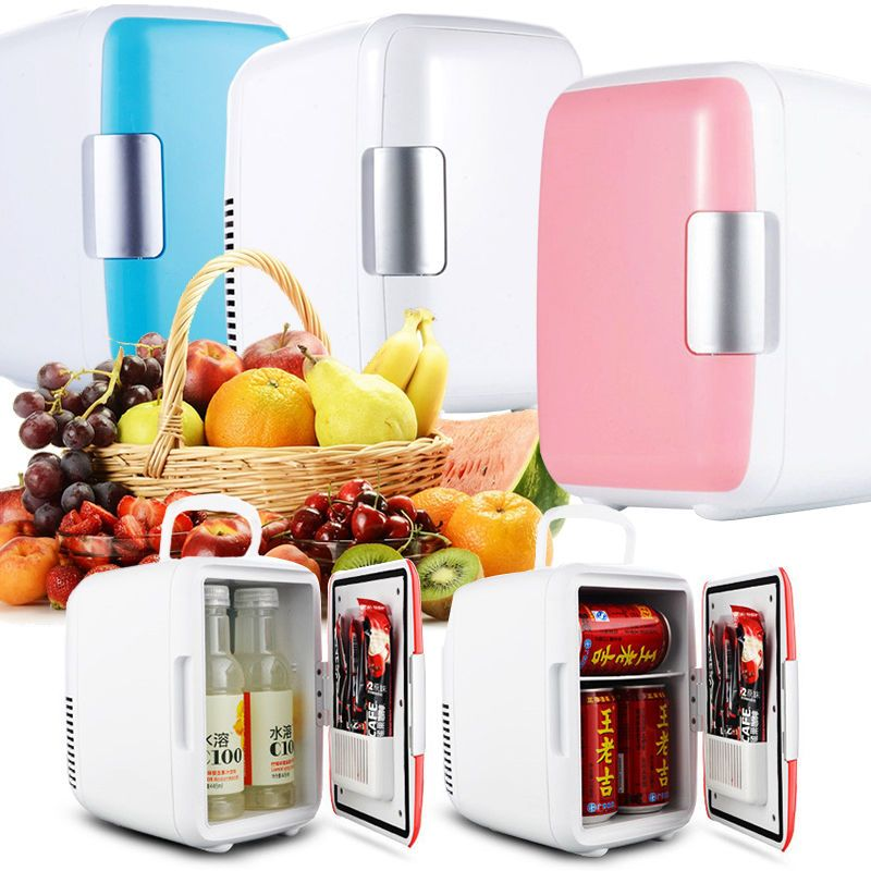 Mini 4L Auto Mini Kühlschrank Cold Compact Kosmetik Kühlschrank