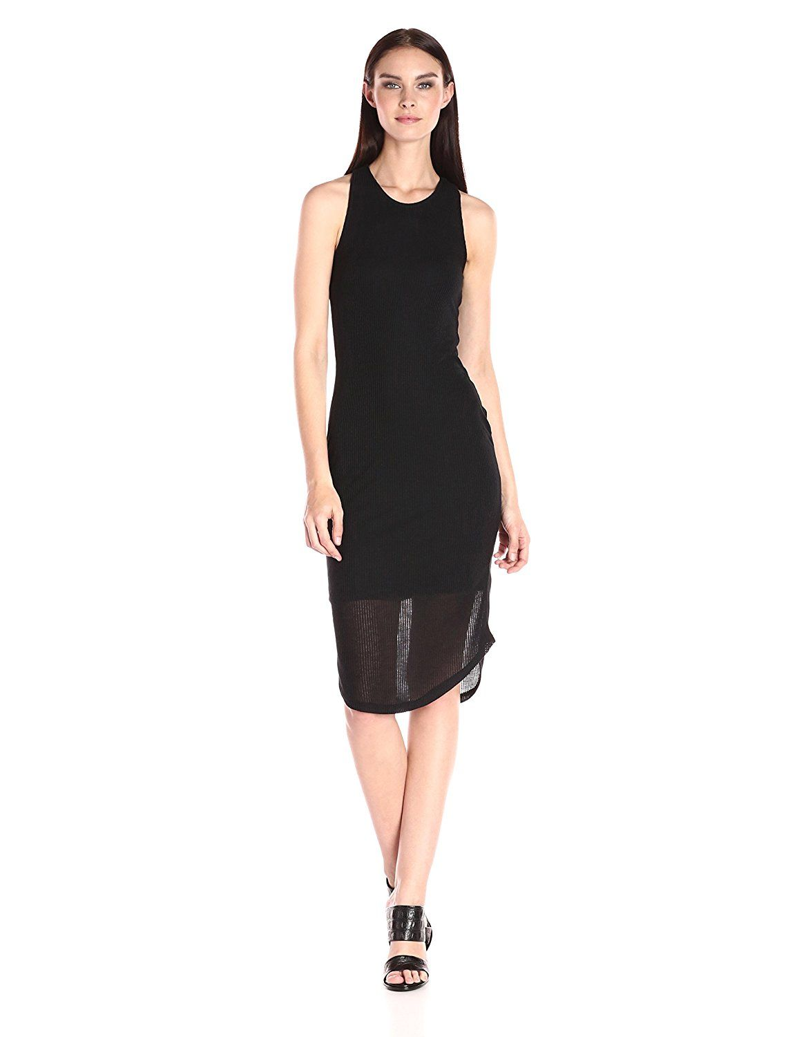 d905781134 RD Style Women s Ribbed Racerback Tank Dress   Check this awesome image   Women s  dresses